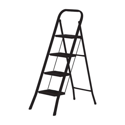 Home Basics Folding Four Step Ladder