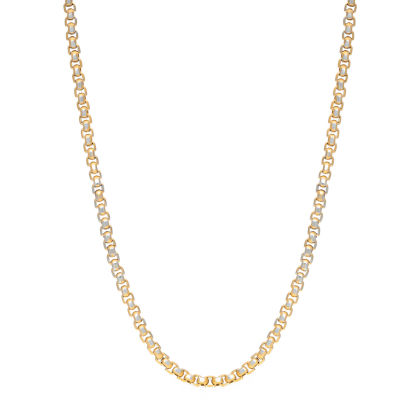 Stainless Steel 24 Inch Solid Box Chain Necklace