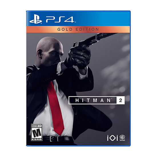Playstation 4 Hitman 2 Gold Edition Video Game Color Multi