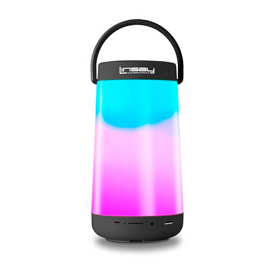 LINSAY® LED Light Party Show Indoor/Outdoor Bluetooth Speaker