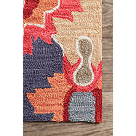 nuLoom Hand Hooked Felicity Rug