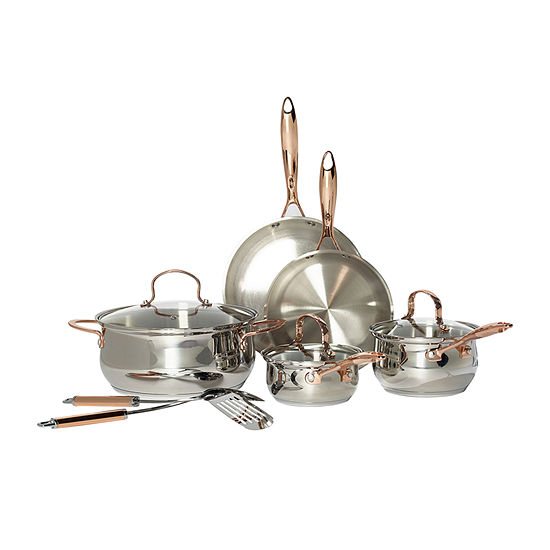 Denmark 10-Pc. Cookware Set 10-pc. Stainless Steel Cookware Set