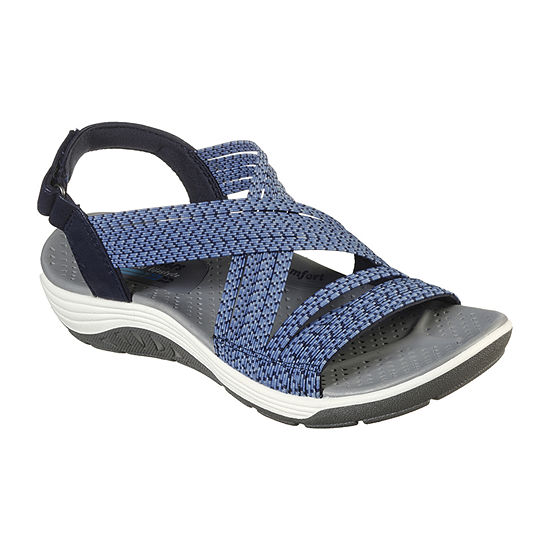 Skechers Womens Reggae Cup - Oh, Snap! Strap Sandals