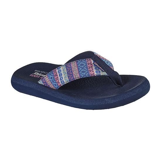 Skechers Womens Asana - Hot Dang Flip-Flops