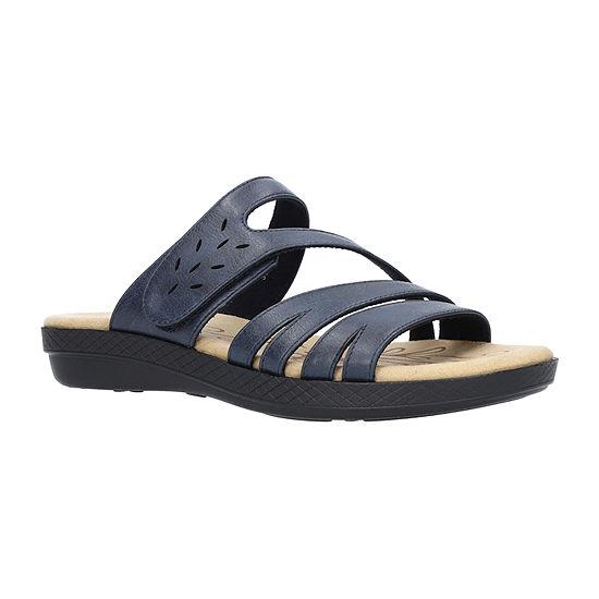 Easy Street Womens Alma Slide Sandals