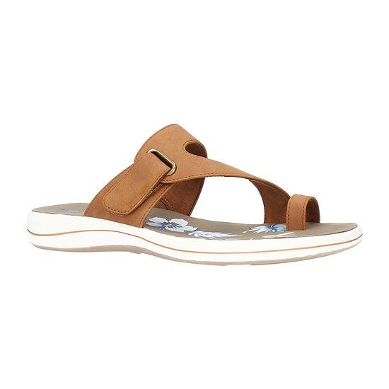 Easy Street Womens Aiko Slide Sandals