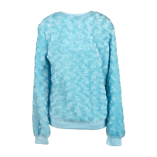 by&by girl Big Girls Crew Neck Long Sleeve Blouse