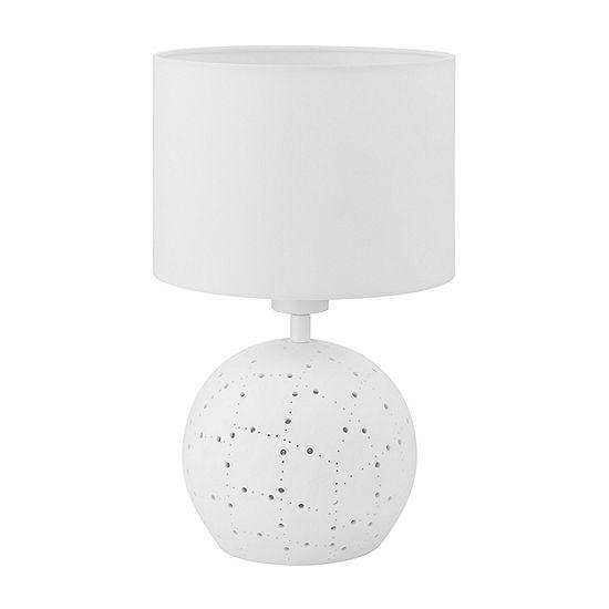 Eglo Montalbano White Ceramic Table Lamp