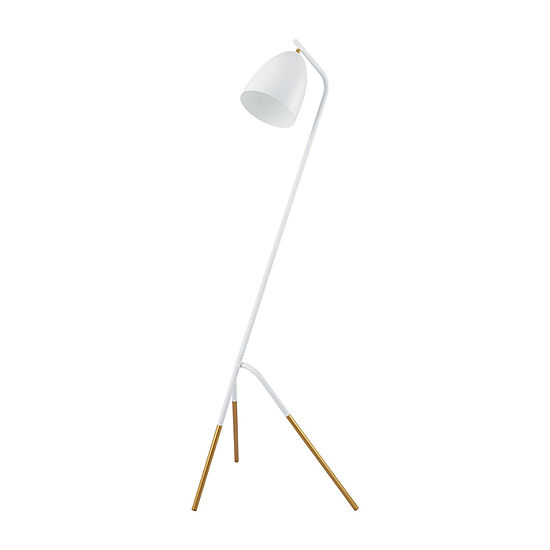 Eglo Westlinton White Gold Steel Steel Floor Lamp