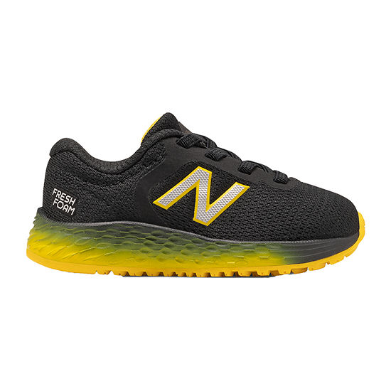 New Balance Arishi Wide Width Toddler Boys Running Shoes