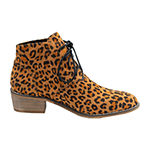 GC Shoes Womens Block Heel Brady Booties