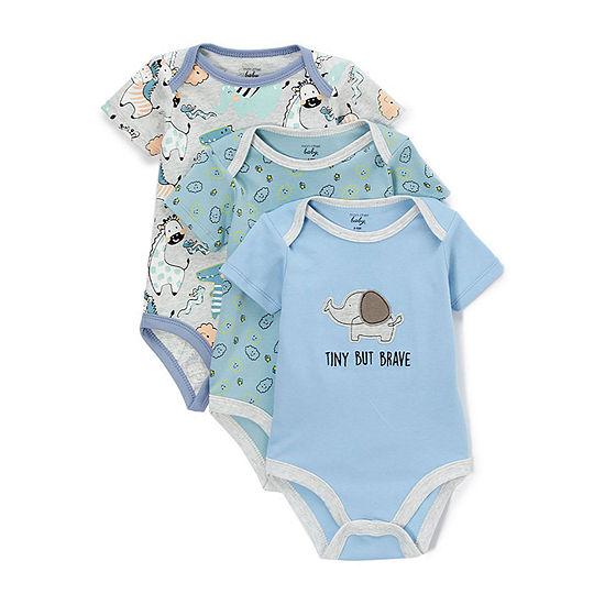 Mon Cheri Baby Boys 3-pc. Bodysuit