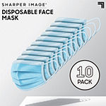 Sharper Image Disposable Face Mask 10 Pack