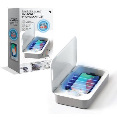 Sharper Image UV Zone Phone Sanitizer Charger