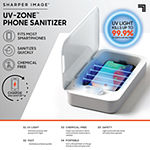 Sharper Image UV Clean Zone Phone Sanitizer Charger