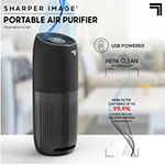 Sharper Image Portable Air Purifier with True HEPA Air Filter