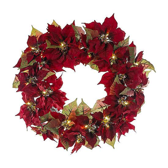 Kurt Adler Indoor/Outdoor Christmas Wreath