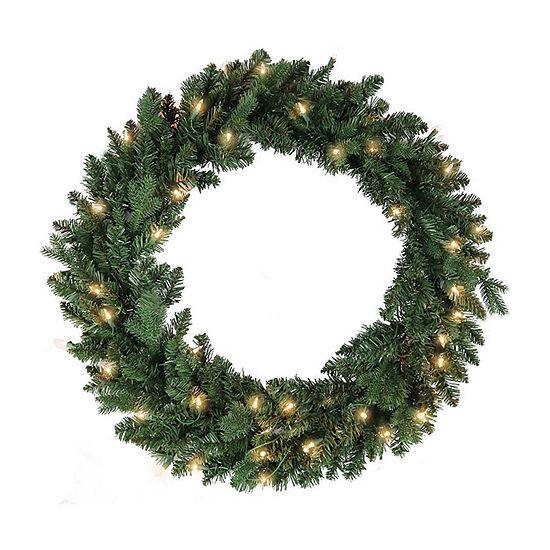 Kurt Adler Indoor Christmas Wreath