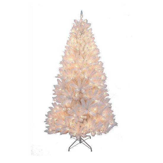 Kurt Adler 7 Foot Pine Pre-Lit Christmas Tree