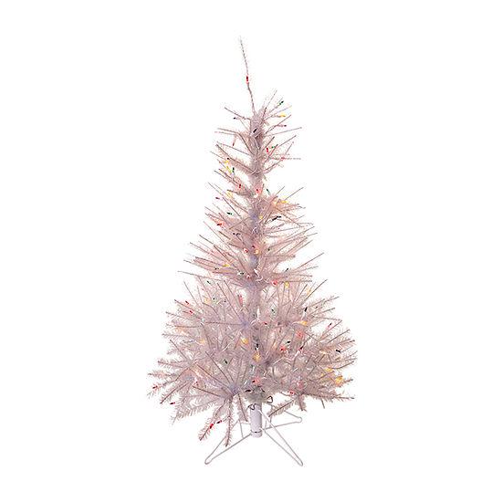 Kurt Adler 4 1/2 Foot Pine Pre-Lit Christmas Tree