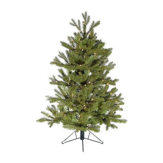 Kurt Adler 4 Foot Pre-Lit Christmas Tree