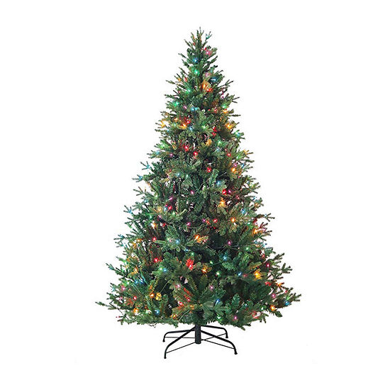 Kurt Adler 7 Foot Pine Pre-Lit Christmas Tree