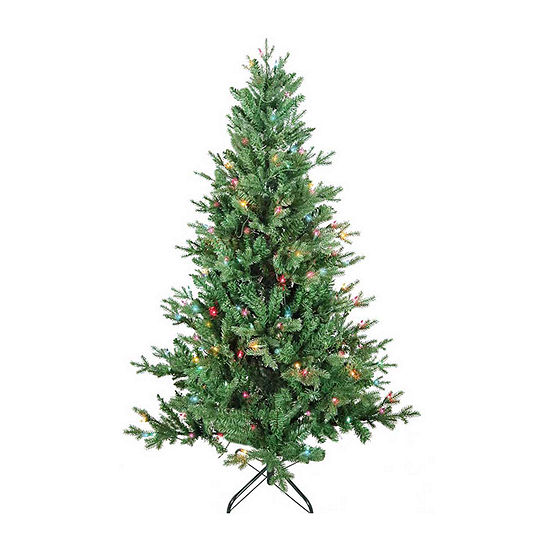 Kurt Adler 5 Foot Pine Pre-Lit Christmas Tree