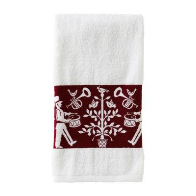 Saturday Knight Vern Yip Christmas Carol Bath Towel