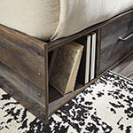 Signature Design by Ashley® Drystan Panel Bed with 2-Storage Drawers