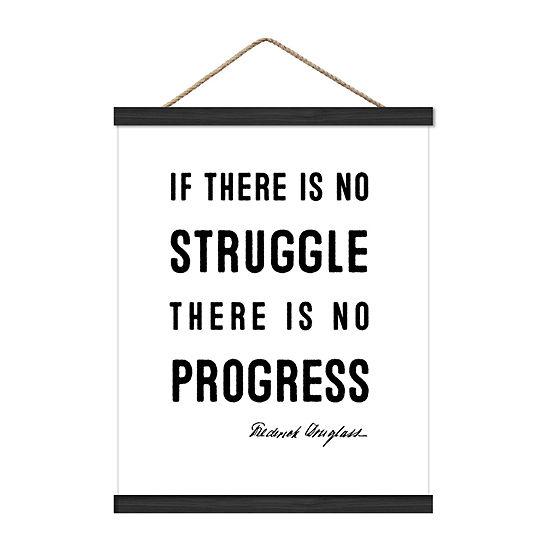 No Struggle 16x20 Wall Sign