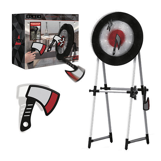 The Black Series  Axe Throwing With Target Combo Game Set