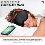 Sharper Image Memory Foam Sleeping Mask with Built-in Speakers