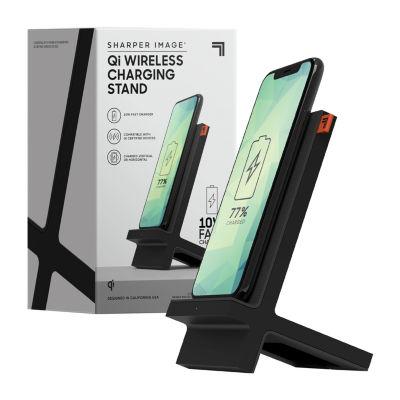 Sharper Image Wireless 10 Watt EPP Charging Stand