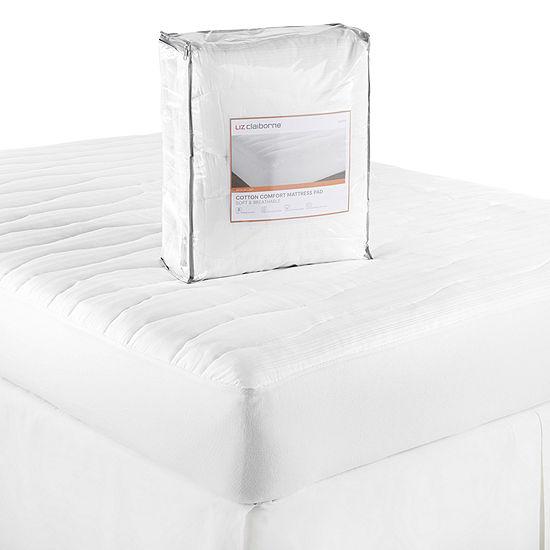 Liz Claiborne Cotton Comfort Mattress Pad