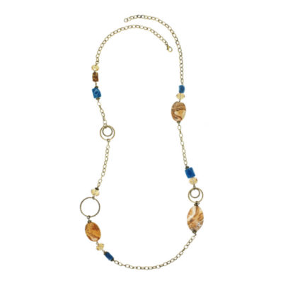 ROX by Alexa Picture Jasper and Jade Necklace