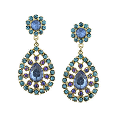 1928® Multicolor Gold-Tone Statement Earrings