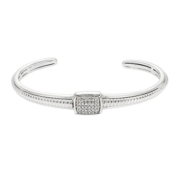 LIMITED QUANTITIES 1/5 CT. T.W. Diamond Sterling Silver Bracelet