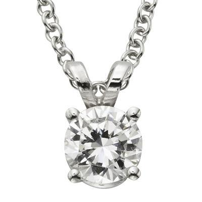 ½ CT. Certified Diamond Solitaire Pendant