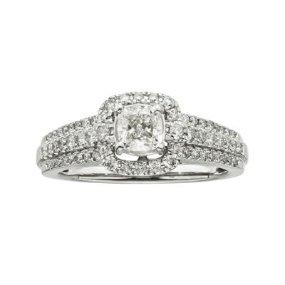 Certified Diamonds 1 CT. T.W. Diamond 14K White Gold Engagement Ring
