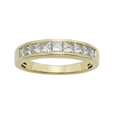 1 CT. T.W. Certified Diamonds 14K Yellow Gold Wedding Band
