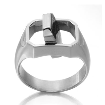 DC Comics® Stainless Steel Dad/Batman Reversible Ring