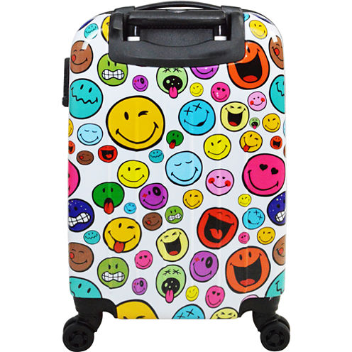 Smiley World Celebration Hardside Luggage Collection