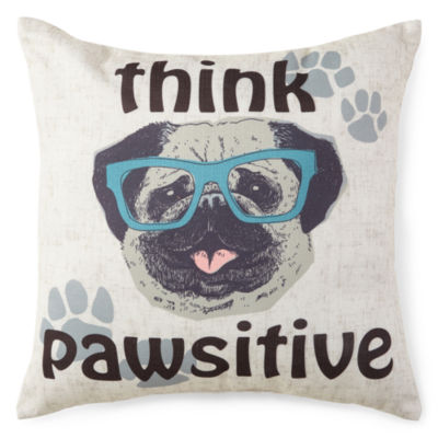 JCPenney Home™ Think Pawsitive Decorative Pillow
