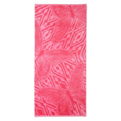 "Outdoor Oasis Tahitian Butterfly 34""x68"" Jacquard  Beach Towel"