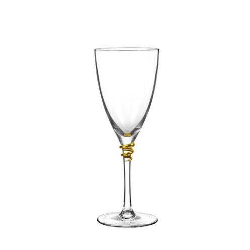 Qualia Glass Helix Gold 4-pc. Wine Glass