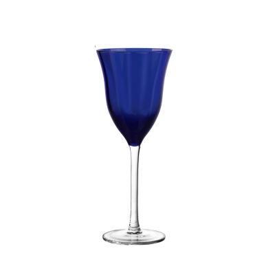 Qualia Glass Cobalt White Wine Set