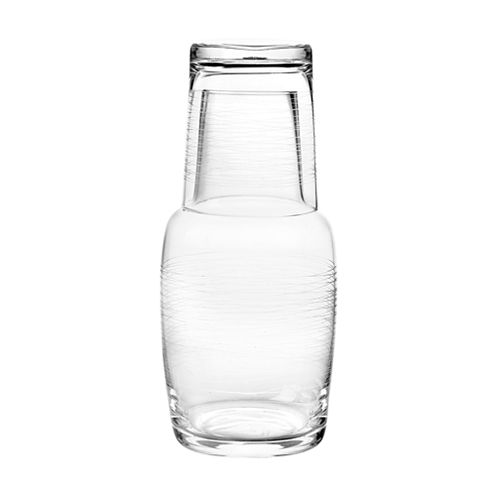 Qualia Glass Graffiti Water Carafe