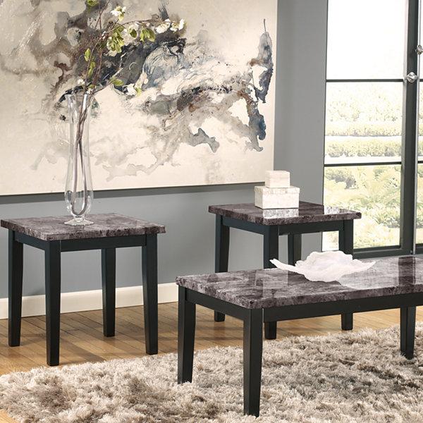 Signature Design by Ashley® Maysville 3pc Occasional Table Set & Signature Design by Ashley® Maysville 3pc Occasional Table Set ...