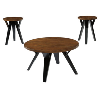 Signature Design by Ashley® Ingel 3-pc Occasional Table Set  sc 1 st  JCPenney & Signature Design by Ashley® Ingel 3-pc Occasional Table Set - JCPenney
