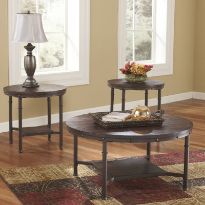 Signature Design by Ashley® Sandling 3-piece Occasional Table Set